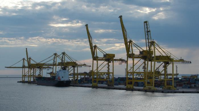 Umweltschutz im Hafenbetrieb