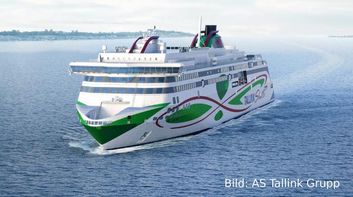 """Tallink setzt mit Autofähre """"Megastar"""" auf LNG-Antrieb"""