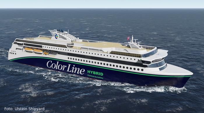 Color Hybrid: Neue Fähre von Color Line