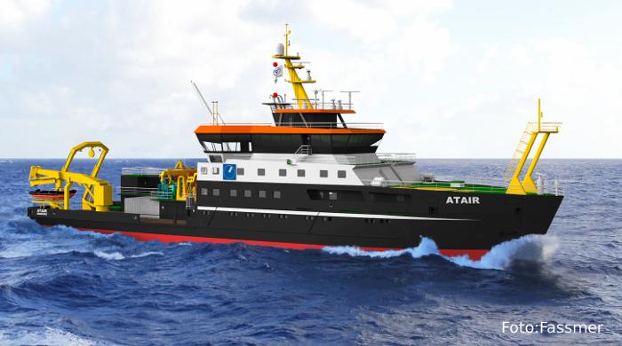 Neues LNG-Schiff Atair