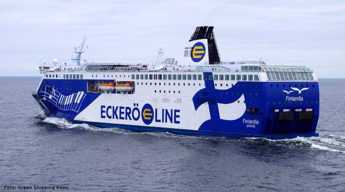Die Autofähre Finlandia mit Abwärme-Nutzung an Bord