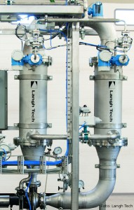 Langh Tech's closed loop water treatment system