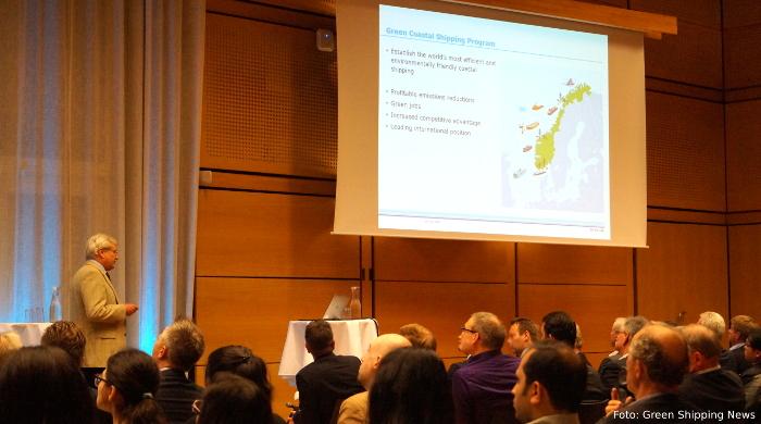 Vorstellung des Projekts Green Coastal Shipping bei DNV GL in Oslo