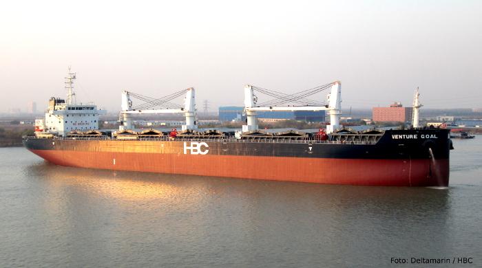 Massengutfrachter Venture Joy von Hamburg Bulk Carriers erhält auf der Nor-Shipping 2017 den Energy Efficient Vessel Award