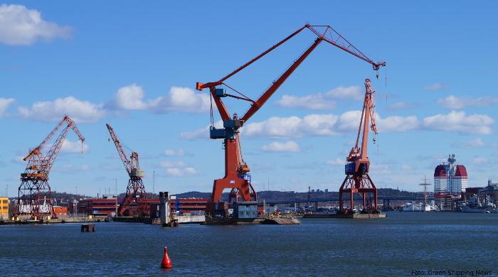 LNG-Terminal im Hafen von Götebort geplant
