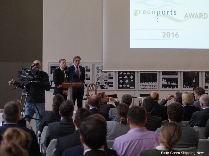Greenports Award - Verleihung in Bremen