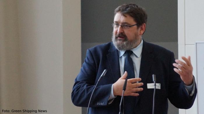 Gavin Allwright von der International Windship Association