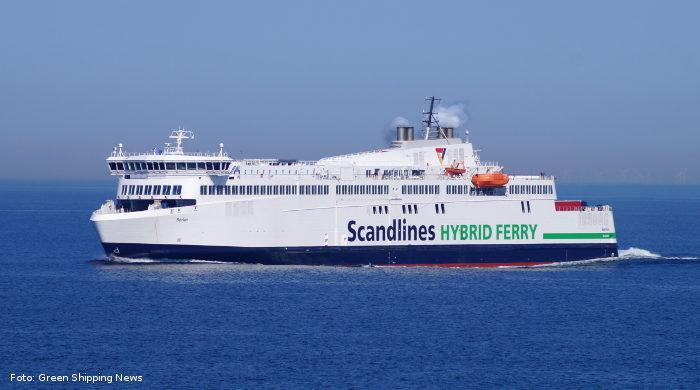 Hybridfähren von Scandlines zwischen Rostock und Gedser seit einem Jahr im Einsatz