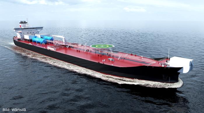 Neuer Shuttle-Tanker von Teekay nutzt Flüchtige organische Verbindungen als Treibstoff