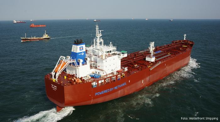 Waterfront Shipping bestellt vier weitere Tanker mit Methanol-Antrieb