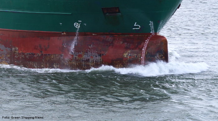 Aircoat-Folie am Rumpf soll Kraftstoffverbrauch von Schiffen senken