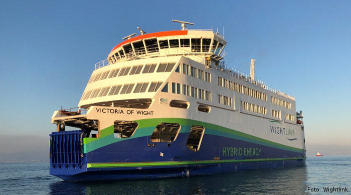 Neue Hybrid-Fähre zur Isle of Wight von Wightlink