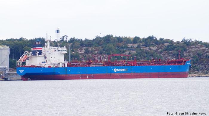 Tanker der Reederei Norden nutzt Biokraftstoff von Goodfuels