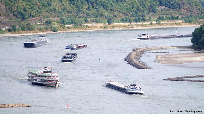 Landstrom-Versorgung für Binnenschiffe wird ausgebaut