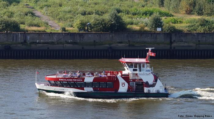 Hadag will neue Elbfähren in Hamburg mit Wasserstoff betreiben