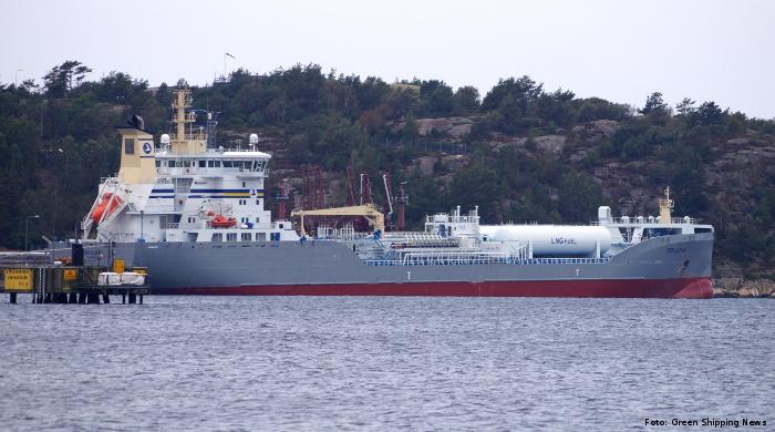 """Preem lässt das Tankschiff """"Tern Ocean"""" mit Bio-LNG betanken"""