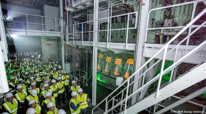Weitere Bestellung von LPG-Motoren von MAN Energy Solutions
