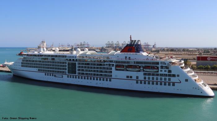 """Hapag-Lloyd Cruises nutzt Corona-Pause für Landstrom-Test mit """"Europa 2"""""""