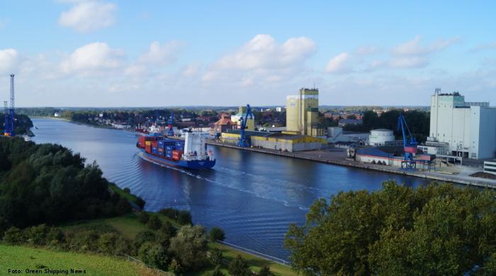 Gebühren-Pause am Nord-Ostsee-Kanal vermeidet zusätzliche Emissionen