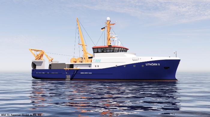 """Forschungsschiff """"Uthörn"""" erhält Methanol-Antrieb"""