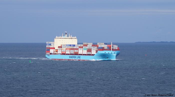 Maersk will ab 2023 ein klimaneutrales Methanol-Schiff betreiben