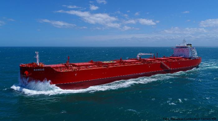 Klaveness Combination Carriers vermeidet mit Kombi-Frachtern Leerfahrten