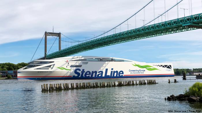 """Stena Line kündigt Bau der Batterie-Fähre """"Stena Elektra"""" an."""