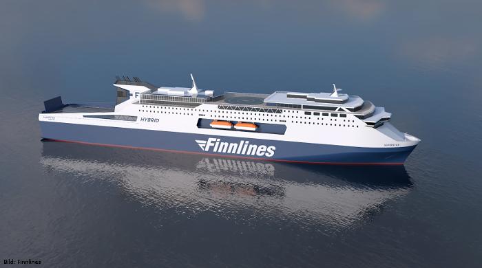 Finnlines-Fähren erhalten Luftschmierung von Silverstream