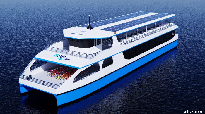 Ostseestaal baut Elektro-Solar-Schiff für den Bodensee